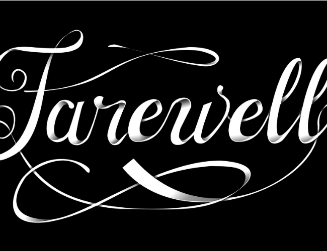 Farewell graphic