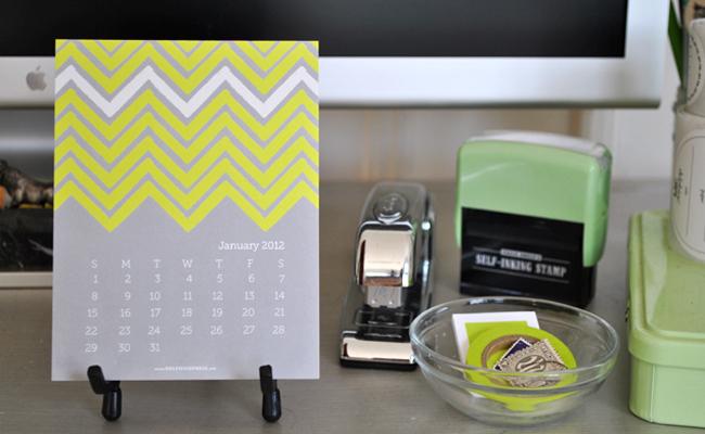 Office equipment and calendar