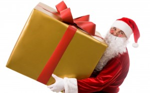 Christmas Letter and Gift from Santa Claus