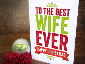Christmas Letter for Wife