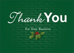 Christmas Letter for Business Clients